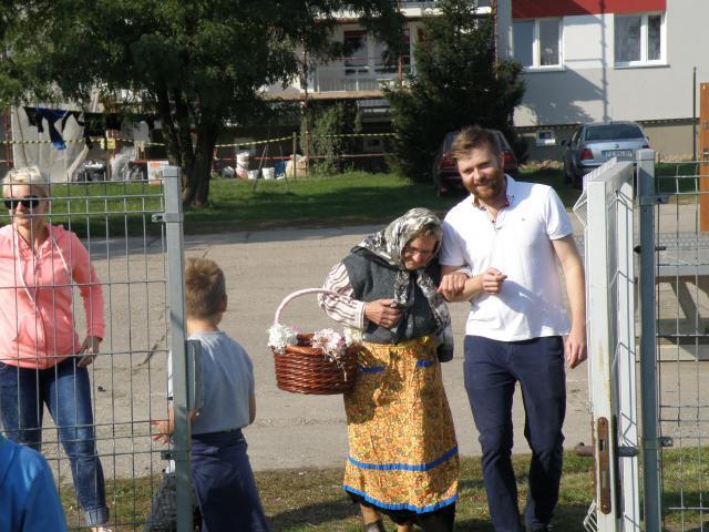 Babulinka nas odwiedziła ... Pani Krysia ;-)